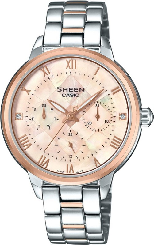Casio SX193 Sheen Watch - For Women