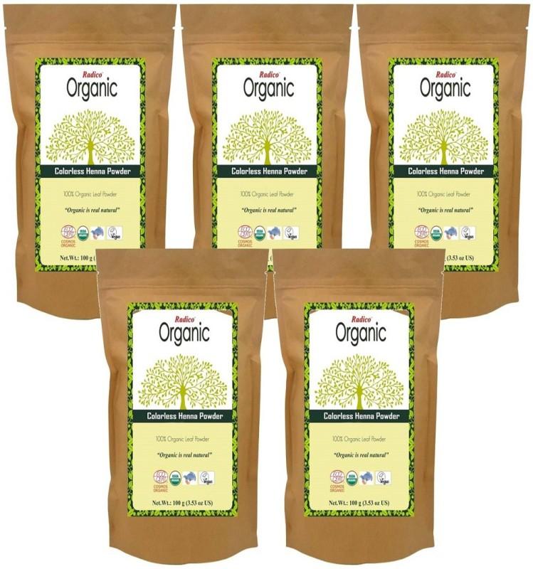 RADICO Organic Colorless Henna Powder 5 In 1(500 g)