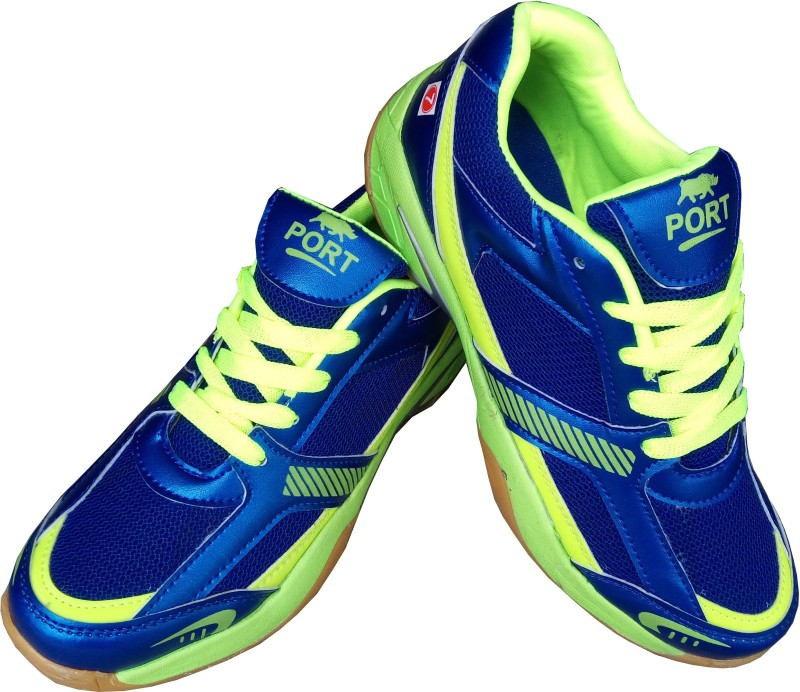 Port Badminton Shoes(Blue)