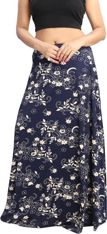 Shopping World Printed Women's Regular Multicolor Skirt