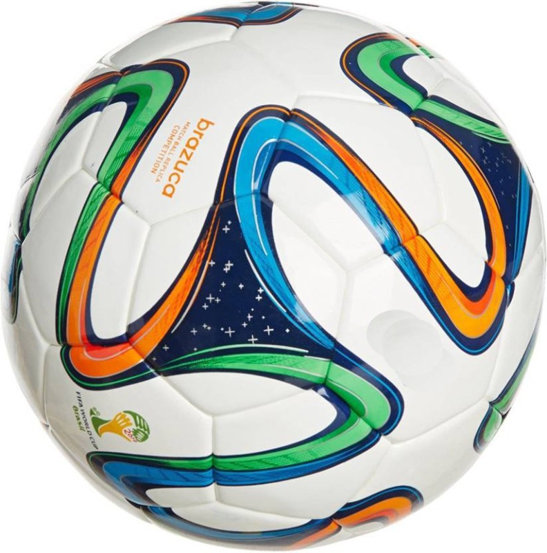 Brand new Brazuca Premier Football - Size: 5(Pack of 1, Multicolor)