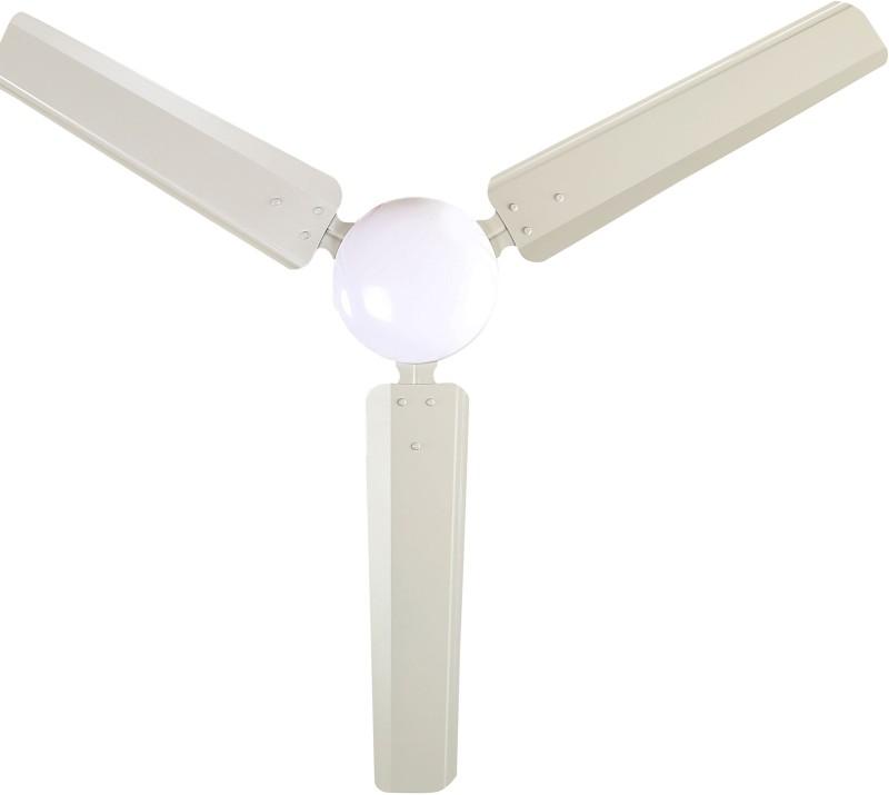 Sameer i-Flo Dust proof 3 Blade Ceiling Fan(Grey)