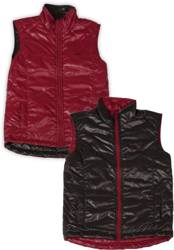 Allen Solly Junior Sleeveless Solid Boys Jacket