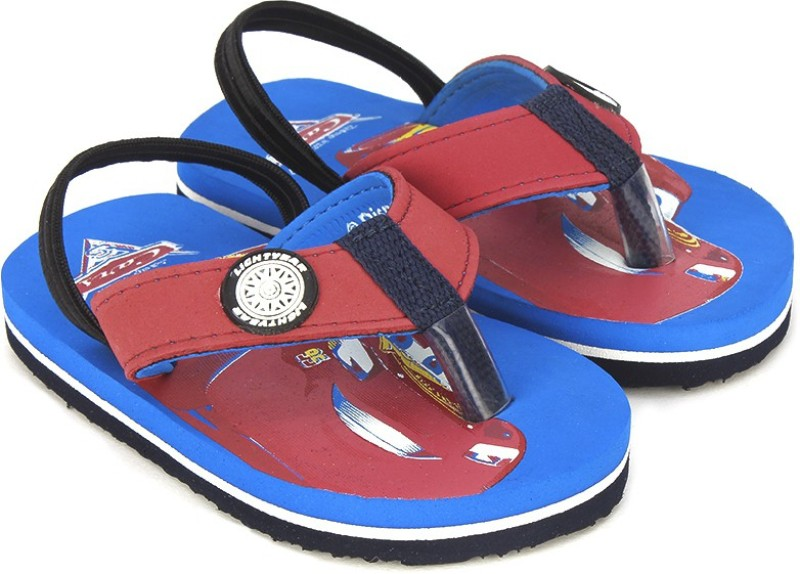 Cars Boys Slip On Slipper Flip Flop(Blue)