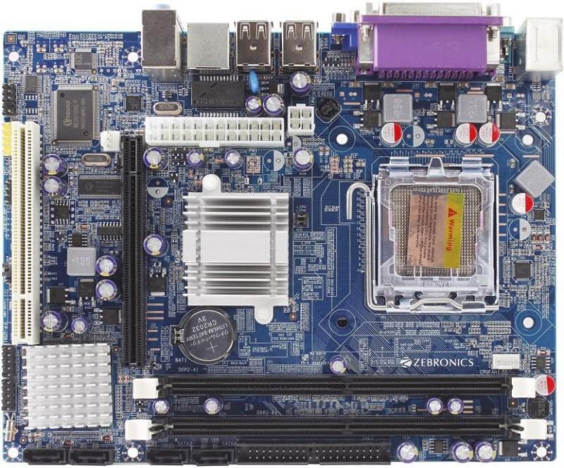 ZEBRONIC G31 Supported Socket 775 RAM DDR2 Motherboard image