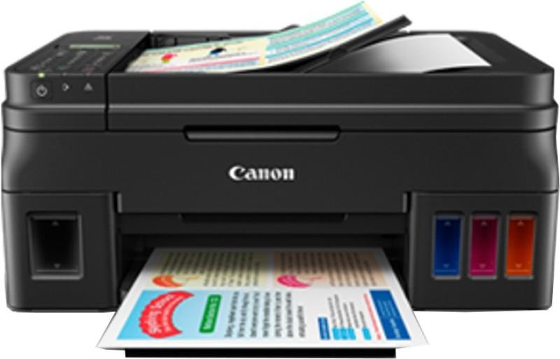 Canon G4000 Multi-function Printer(Black, Refillable Ink Tank)