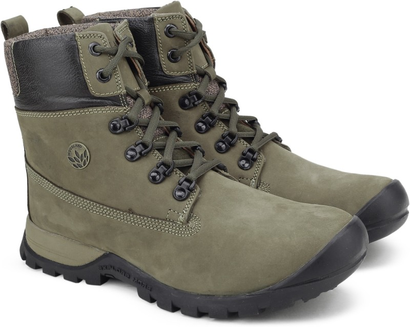 Woodland BOOTS For Men(Green)