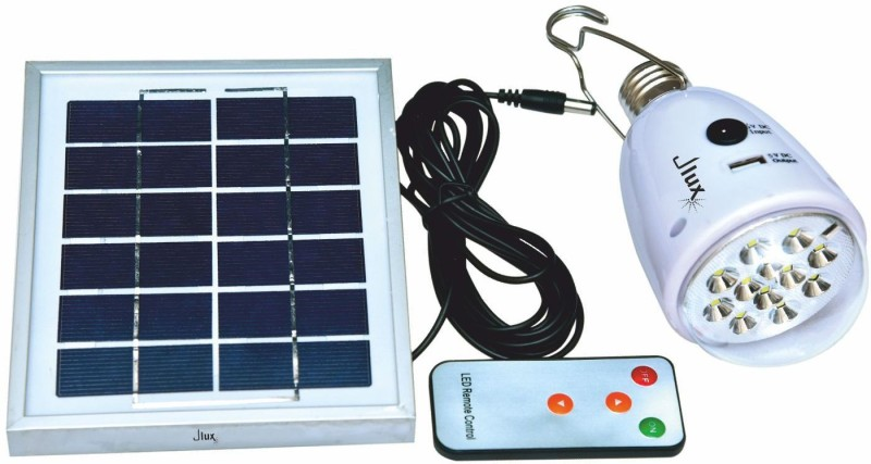 jlux SOLAR LAMP , WITH 9W LAMP, POWER BANK, MOBILE CONTROLLED Solar Light Set(Wall Mounted Pack of 1)