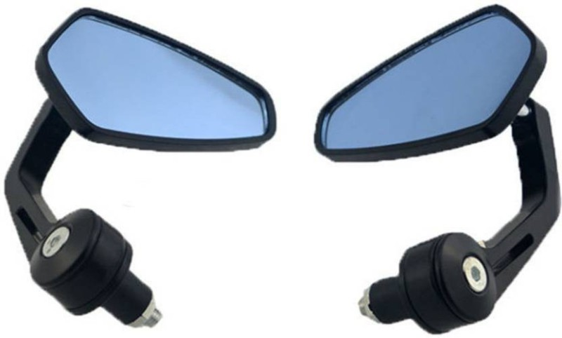 RK BEAUTY Manual Rear View Mirror, Driver Side, Dual Mirror For Royal Enfield Avenger 220 DTS-i, Pulsar 135 LS DTS-i(Right, Left)