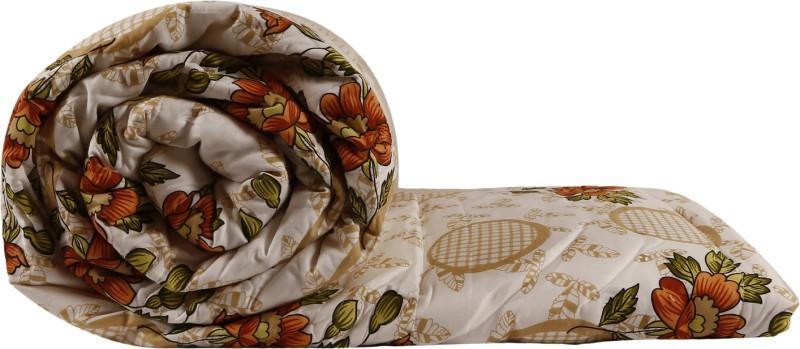 Just Linen Floral Single Quilts & Comforters Multicolor -Brown &...