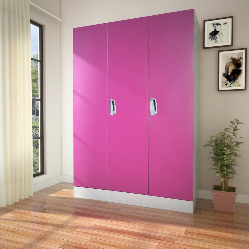 Godrej Interio Slimline 2DW Metal Almirah(Finish Color - Textured Purple)