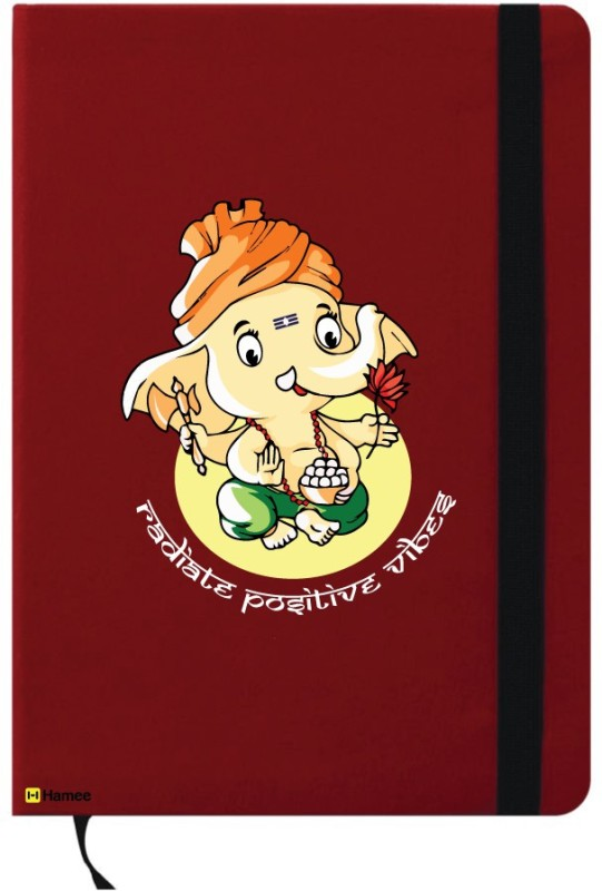 Hamee A6 Notebook(A6 Notebook, Red) Image