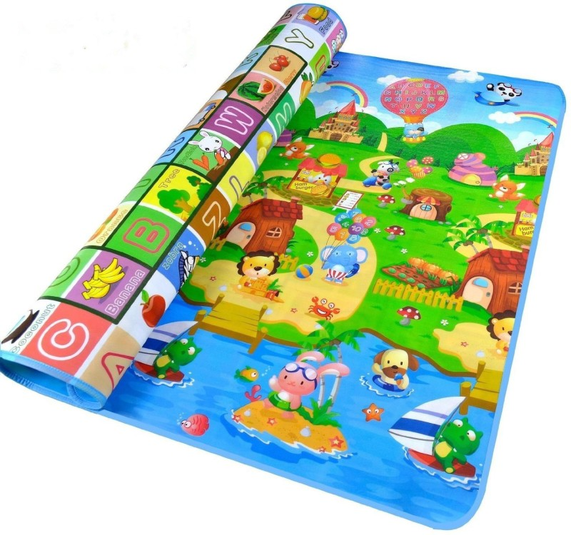 Italish Plastic Baby Play Mat(Multicolor, Free)