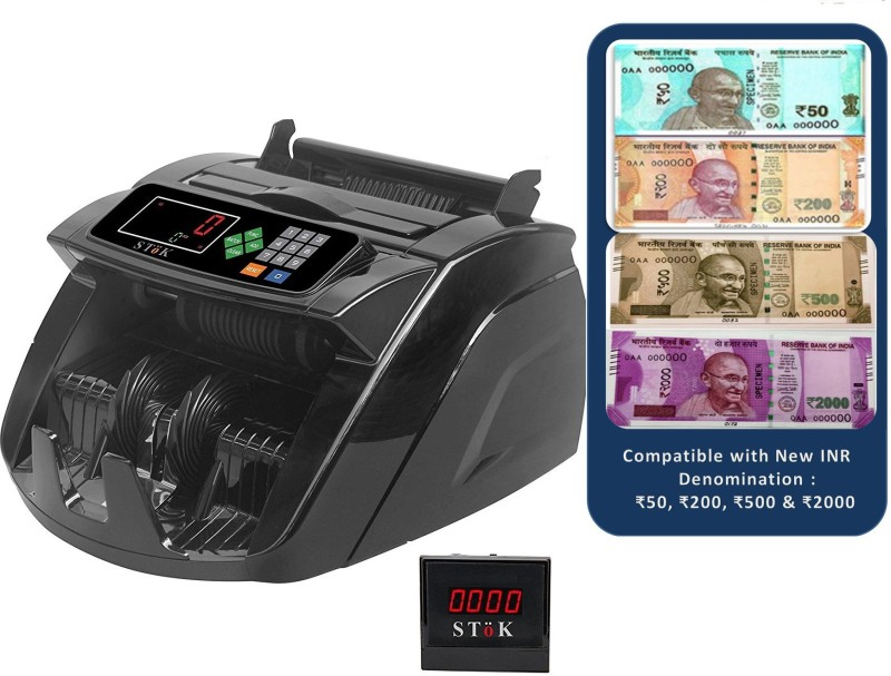 Stok ST-MC05 Note Counting Machine(Counting Speed - 1000 notes/min)