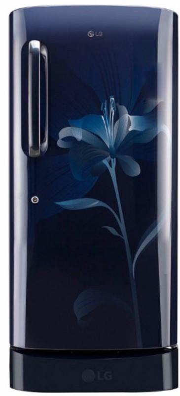 LG 190 L Direct Cool Single Door Refrigerator(Marine Lily, GL-D201AMLC)