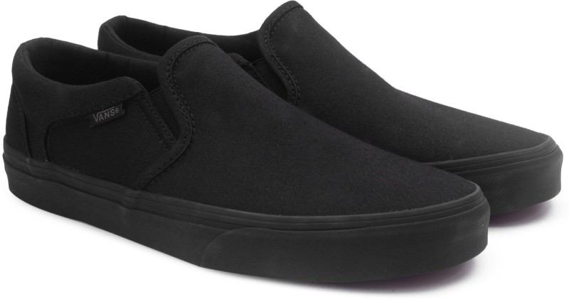 Vans Asher Loafers For Men(Black)