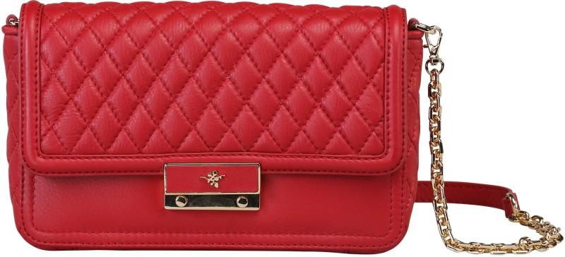 Ilex London Red Sling Bag