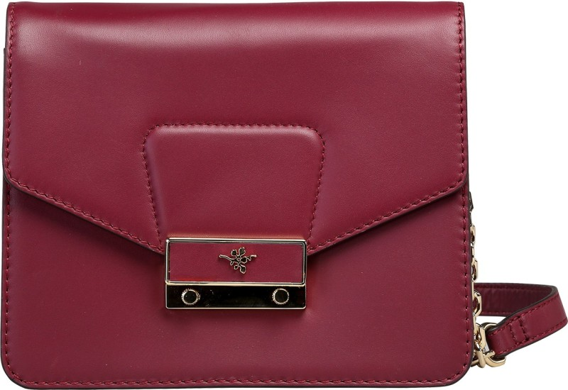 Ilex London Maroon Sling Bag