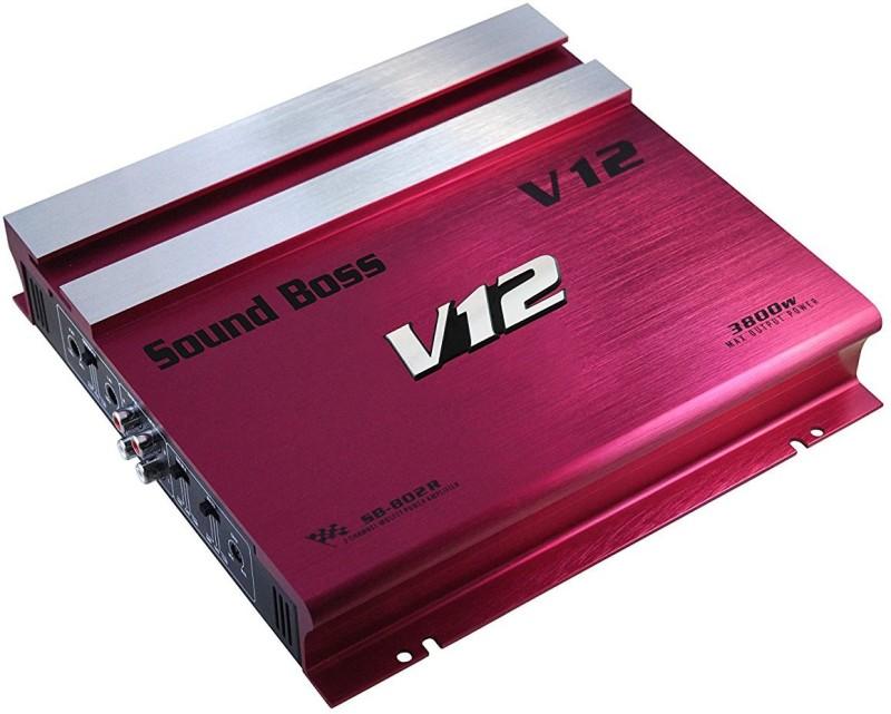 Sound Boss 3800W MOSFET HIGH POWER Two Class AB Car Amplifier