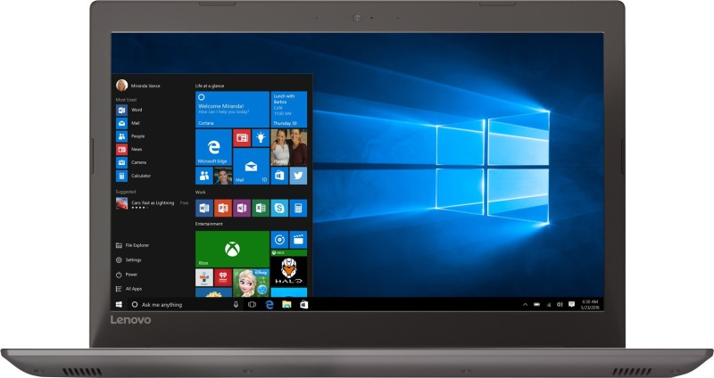 Lenovo Core i5 7th Gen - (8 GB/1 TB HDD/Windows 10 Home/4 GB Graphics) IP 520 Laptop(15.6 inch, Bronze, 2.2 kg)