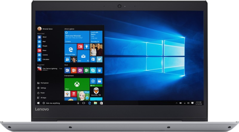 Lenovo Ideapad 520 Core i5 7th Gen - (8 GB/256 GB SSD/Windows 10 Home) IP 520S Laptop(14.1 inch, Grey, 1.69 kg, With MS Office) image