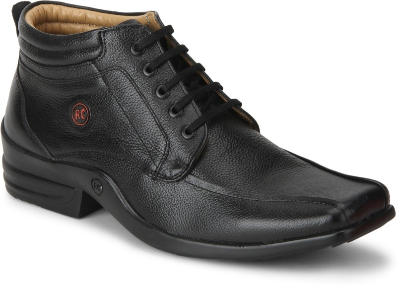 Red Chief Boots For Men(Black)