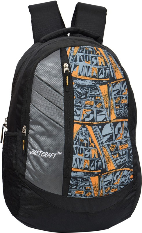 Justcraft Galaxy 25 L Backpack(Grey)