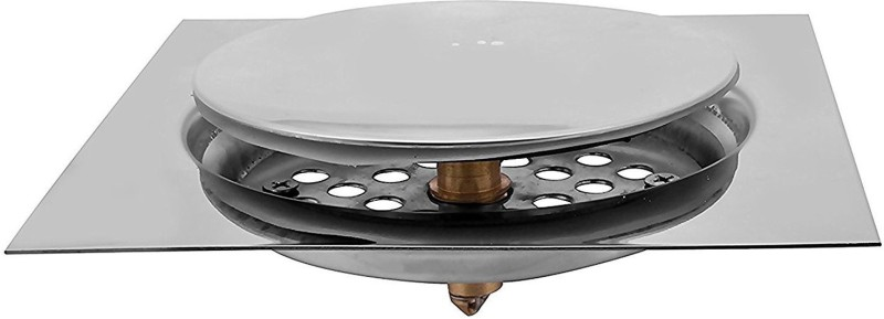 Klaxon Floor Stainless Steel Pop-Up Strainer(15 cm Set of 1)