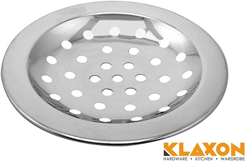 Klaxon Floor Stainless Steel Push Down Strainer(12 cm Set of 1)
