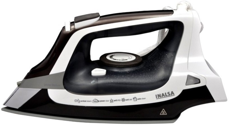 Inalsa Geyser Titanium 2000 W Steam Iron(White and Grey)