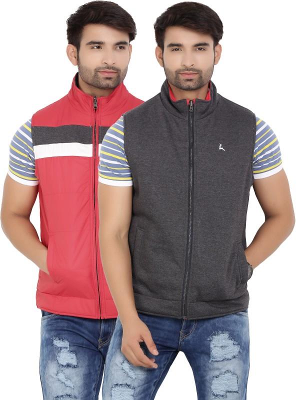 Parx Sleeveless Solid Men Jacket