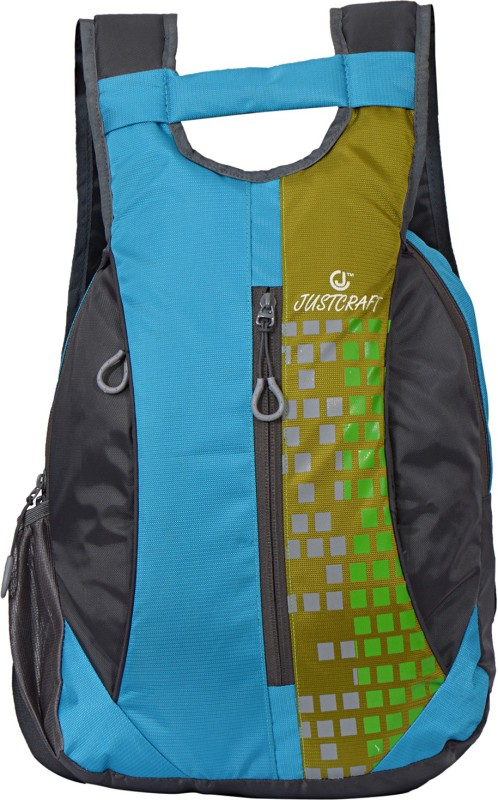 Justcraft Roller 1000D 15 L Backpack(Grey, Green)