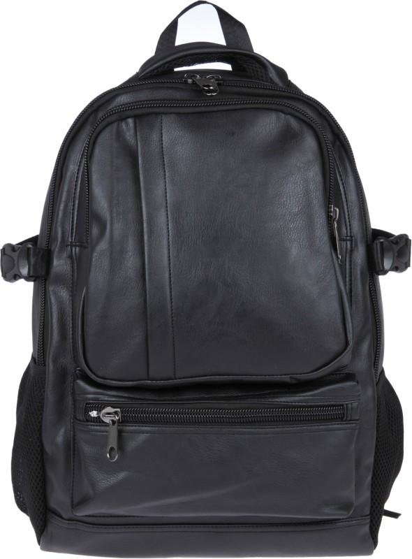 Fur Jaden BM13_Black 25 L Laptop Backpack(Black)