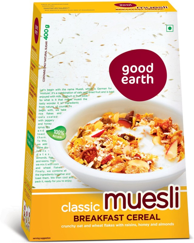 Avesta Good Earth Foods Muesli(400 g, Box)