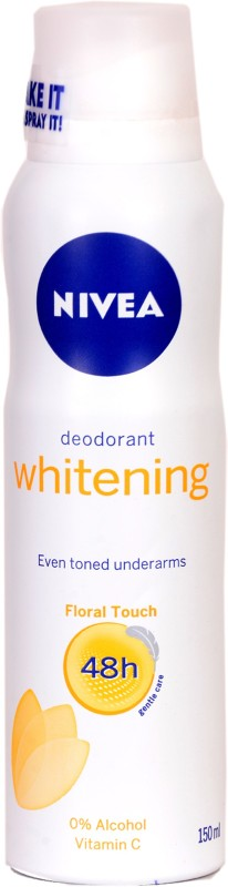 Nivea Women Whitening Floral Touch Anti-Perspirant Deodorant 150 ml Deodorant Spray - For Women(150 ml)