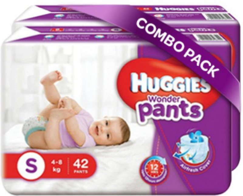 Huggies Wonder Pants Small Size Diapers - S(84 Pieces)