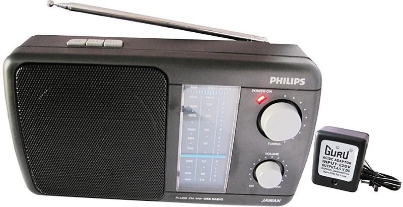 Philips Jawan RL4250 FM Radio(Black)