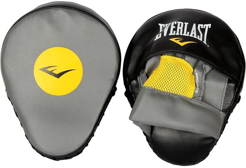 Everlast Punch Mitts (Black/Grey) Focus Pad(Black, Grey)