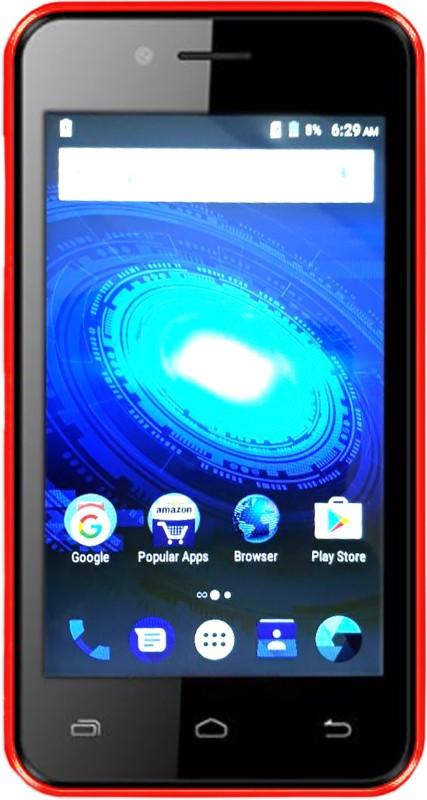 Karbonn A41 Power 4G VoLTE (Black & Red, 8 GB)(1 GB RAM) A41 Power 4G VoLTE