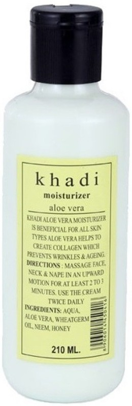 Khadi Natural Herbal Aloevera Moisturizing Lotion(210 ml)