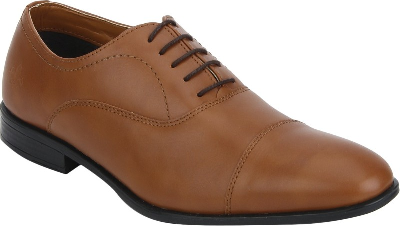 Bond Street By Red Tape Men Formal Oxford Lace Up For Men(Tan)