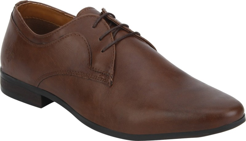Bond Street By Red Tape Men Formal Derby For Men(Tan)