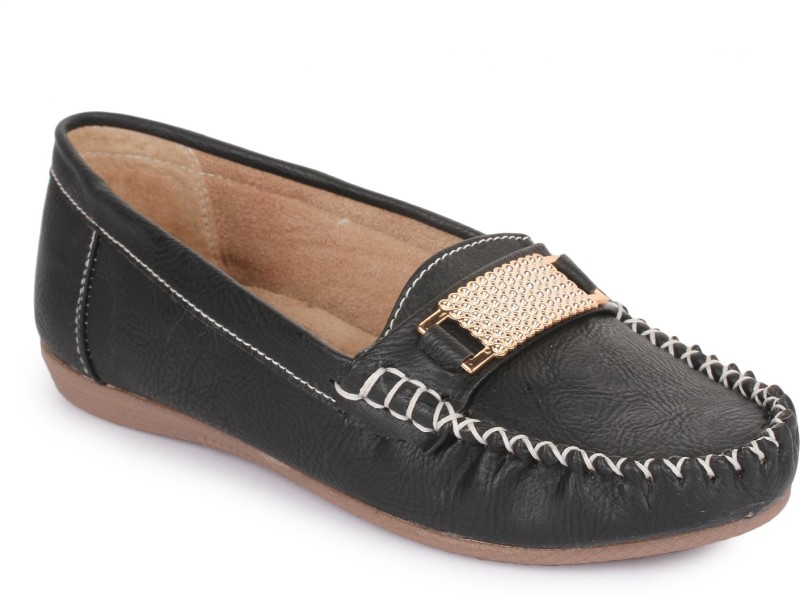 Naisha Loafers For Women(Black)