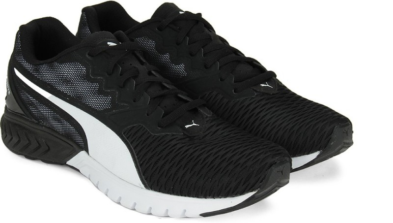 Puma IGNITE Dual Wn s Running Shoes(Black)