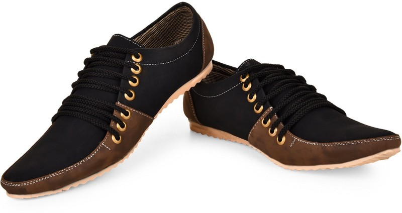 Essence 7 Lace Sneakers For Men(Black)