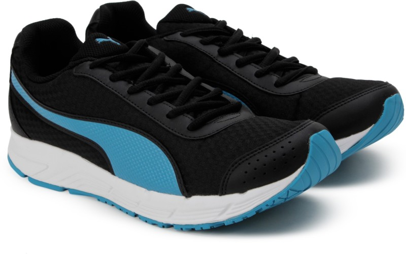 Puma Rapple Running Shoes(Black, Blue)