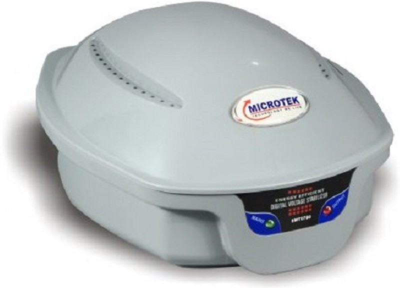 Microtek EMT-0790 (STEBILIZER) Voltage Stabilizer(Grey)