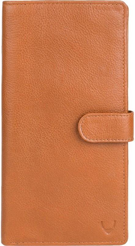 Hidesign Men Tan Genuine Leather Wallet(8 Card Slots)
