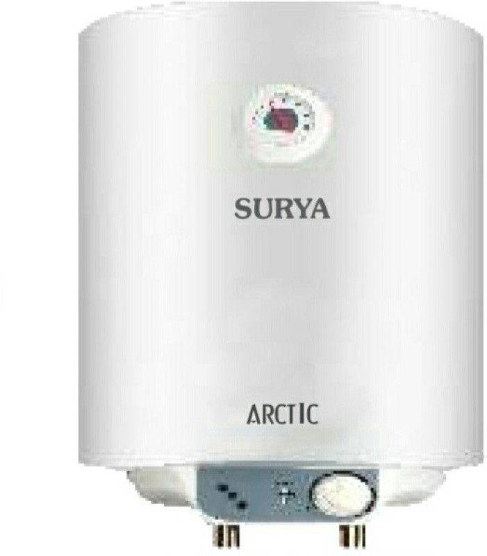 Surya 15 L Storage Water Geyser (arctic, White)