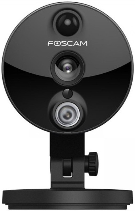 Foscam C2 Indoor 1080P (2MP) Full HD Wireless Home Security IP camera with Night Vision Up to 26 FT, Super Wide 120 Viewing Angle, Motion Detection and more-  Webcam(Black) image